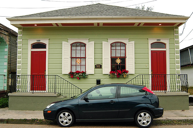 When Nicole was finished with her post-Katrina reconstruction, her home looked better than it had ever looked, thanks to Nicole's tenacity and attention to detail.