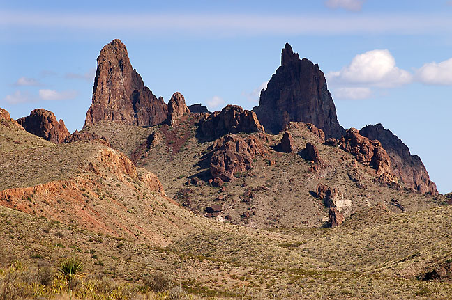 The Mules Ears, Big Bend.
