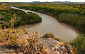 Rio Grande, Boquillas Canyon, Big Bend.