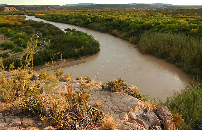 Rio Grande, Boquillas Canyon, Big Bend.