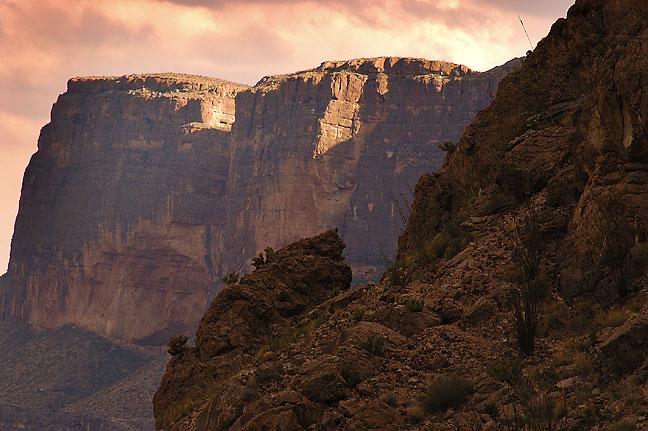 Cliffs, Santa Elena Canyon.