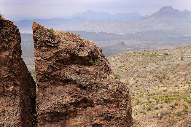 This is the extraordinary view at the end of The Window trail at Big Bend National Park.