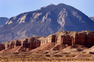 I found this handsome desert scene along Utah 95.