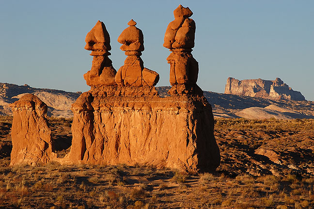 Hoodoos, Goblin Valley.