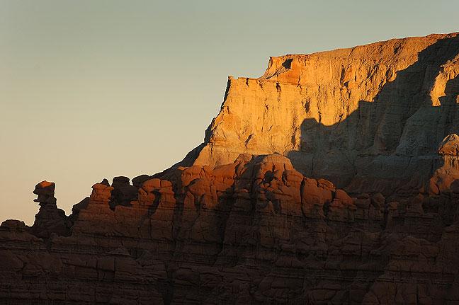Goblin Valley at last light.