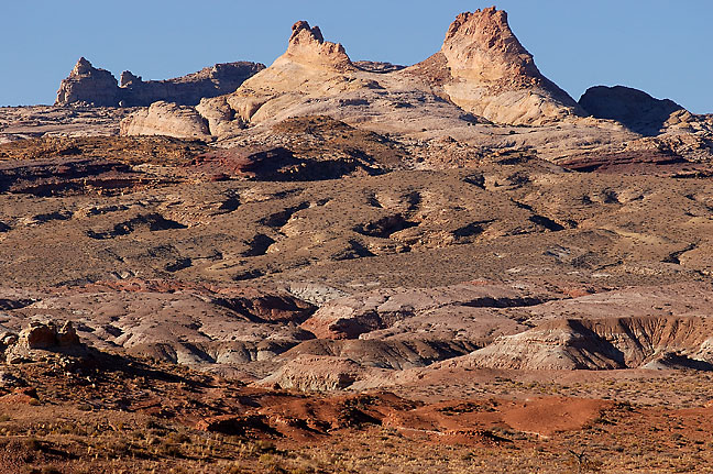 San Rafael Reef which forms the eastern escarpment of the San Rafael Swell, Utah.