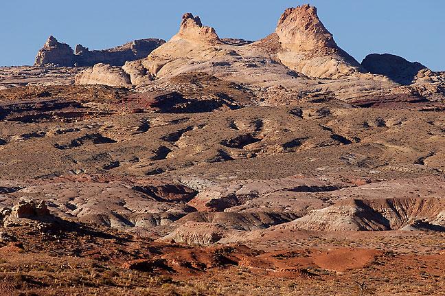 San Rafael Reef which forms the eastern escarpment of the San Rafael Swell, Utah.