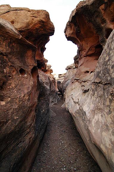 Narrows, Wild Horse Canyon, San Rafael Swell.