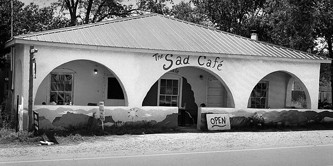 The Sad Café near Villanueva