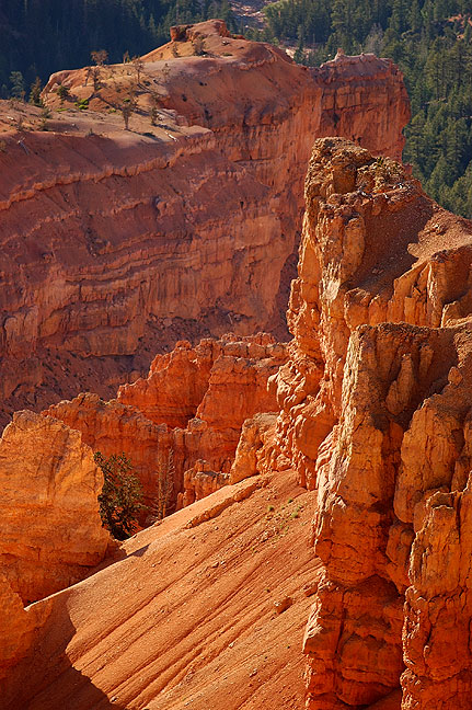 Highleap Canyon seen from North View, Cedar Breaks.