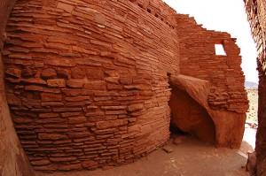 Ruins, Wupatki.