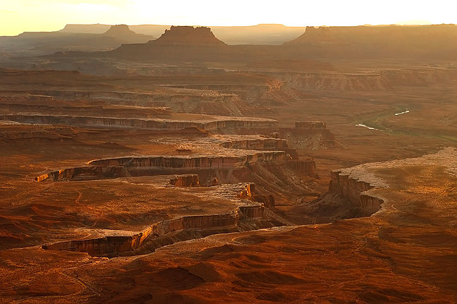 Sunset at the Green River Overlook, Canyonlands; this is one of my all-time favorite images of the southwest.