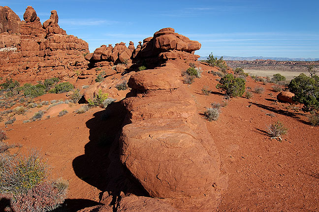 Klondike Bluffs, Arches National Park.