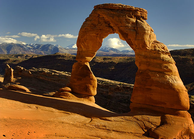 I know I photograph Delicate Arch often, and always post it. But cut me some slack; I DID get married there.