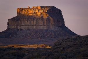Fajada Butte at first light