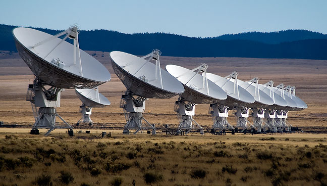 The Very Large Array, Magdalena, New Mexico. This was my third time to visit the VLA.