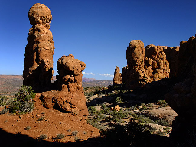 The Garden of Eden section of Arches National Park.