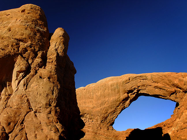 The South Window in The Windows section of Arches.