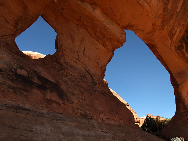 Partition Arch in the Devil's Garden at Arches National Park.