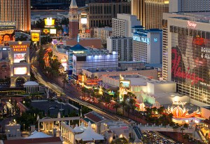 Captivating, exciting, energetic, entertaining: this was our view of Las Vegas.