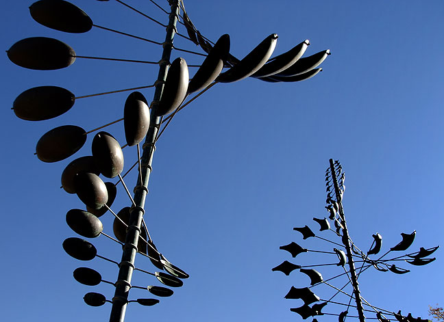Kinetic sculpture, Santa Fe.