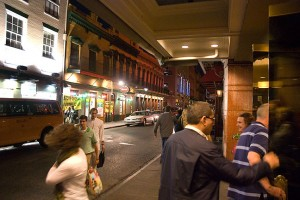 New Orleans' famous French Quarter was our venue for this event.