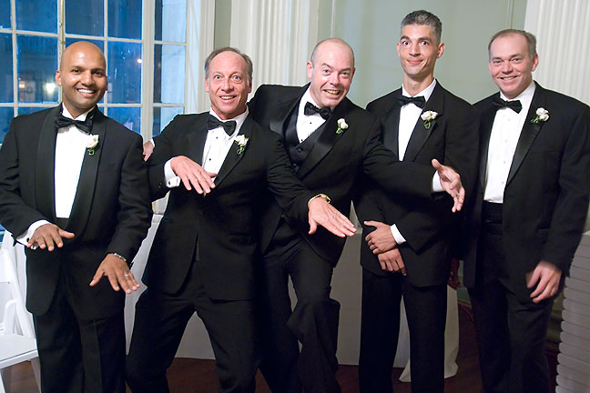 Groom and groomsmen.