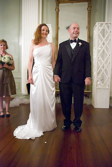 """""""Ladies and gentlemen, may I present to you Mr. and Mrs. Hammill."""""""