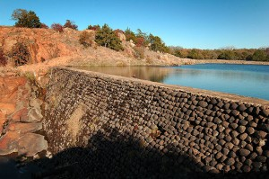 This dam, which created Lost Lake, was constructed in 1926.