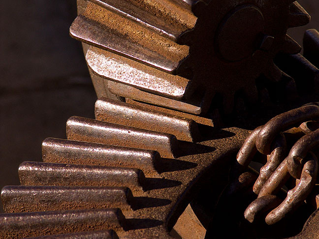 Rusted Iron Gears, Quanah Parker Dam