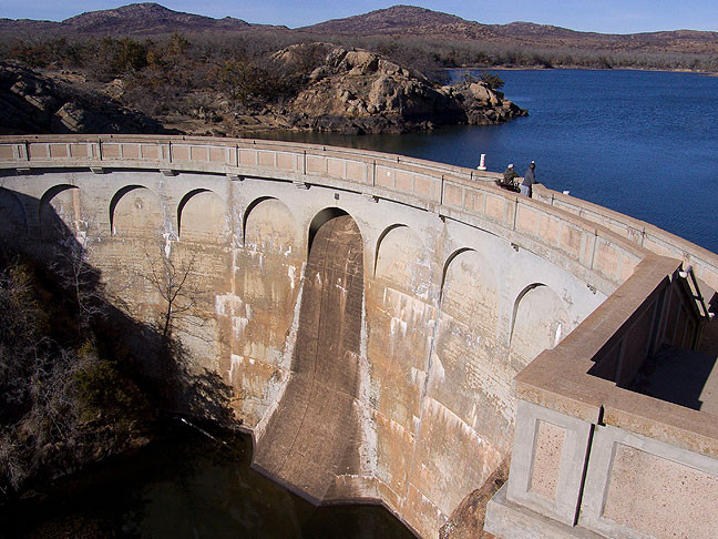 Quanah Parker Lake Dam