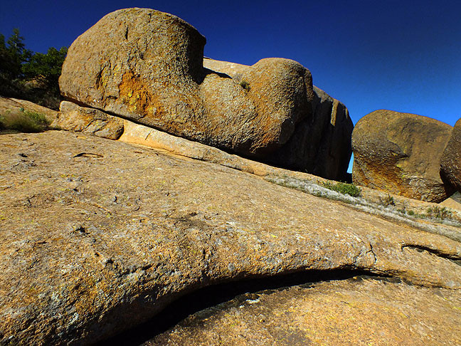 No matter how much I visit, these ancient granite boulders look amazing, and are even more amazing to climb.