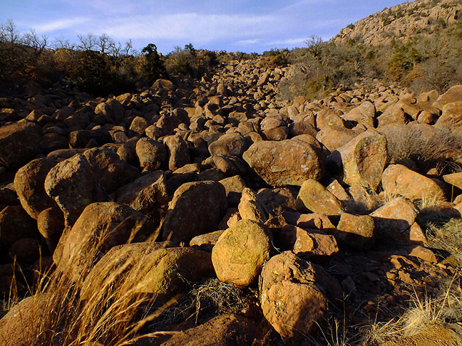 This boulder field is near the base of Mount Scott, and remains on my to-do list of hikes.