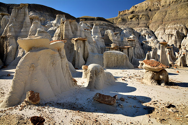 The Bisti/De-Na-Zin complex is 45,000 acres. In spite of three visits, I feel I have only scratched the surface, and I will likely return.
