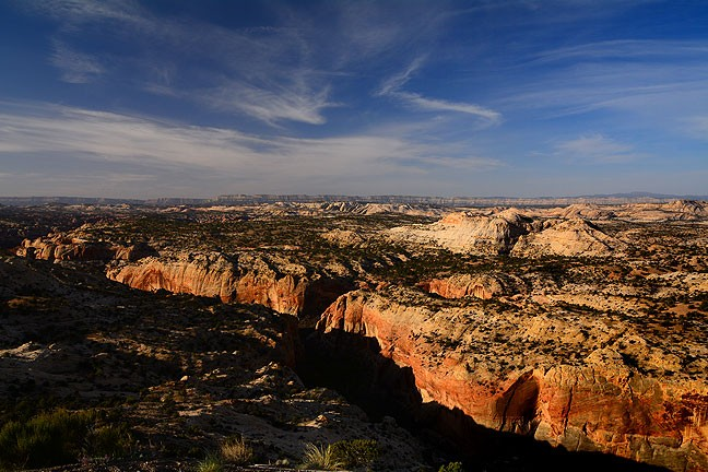 This broad overview of Grand Staircase/Escalante National Monument near Calf Creek shows the expansive beauty of the region.