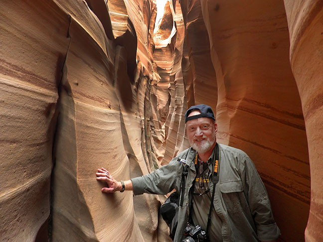 Zebra Slot Canyon was one of my top tier targets for this trip, and it didn't disappoint.