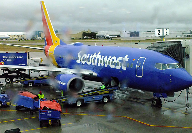 Props to Southwest Airlines for getting me home in the middle of a crisis period, politely and comfortably.