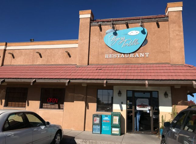 We came across The Flying Tortilla in Santa Fe by accident a few years ago, and it instantly became a favorite. They serve breakfast and lunch in authentic New Mexican style.