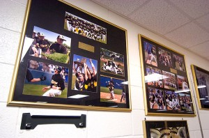 Citizens Bank of Ada mounted and framed these and other images of Roff's recent state championships. Not only are they my images, I felt like I shot really well at those events/