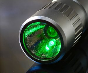 A very useful tool of my trade, the white-red-green selectable flashlight; I got this one on the camping supply aisle.