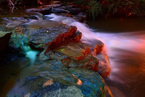 """30 seconds is the threshold exposure for creating really beautiful water blur. Longer exposures create an even deeper """"cotton candy"""" look to the water."""
