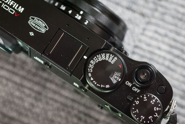 Film photographers, especially older, more traditional ones like me, will feel right at home with the X100V's mechanical dials.