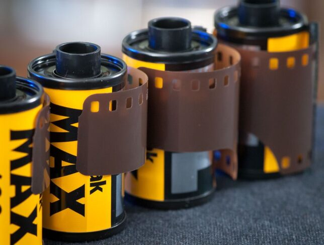 Increasingly rare and expensive, these rolls of Kodak color print film are currently out of a job, at least in my tool box, since I no longer have my own darkroom.