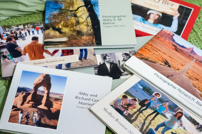 My wife Abby and I love photo books, which we have made and given as gifts many times.