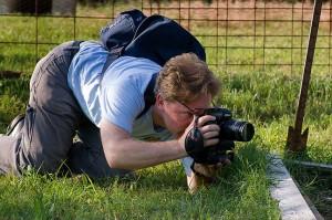 Robert makes images with his Kodak 760 near my garden