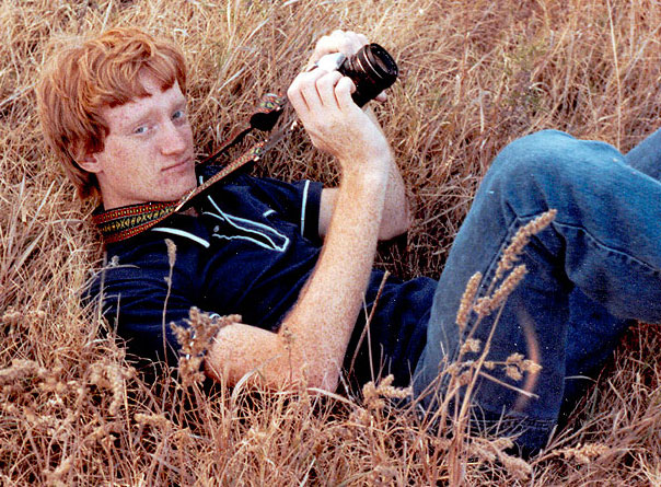 In spite of my nerdish look and attire, I was already discovering photography by 1980.