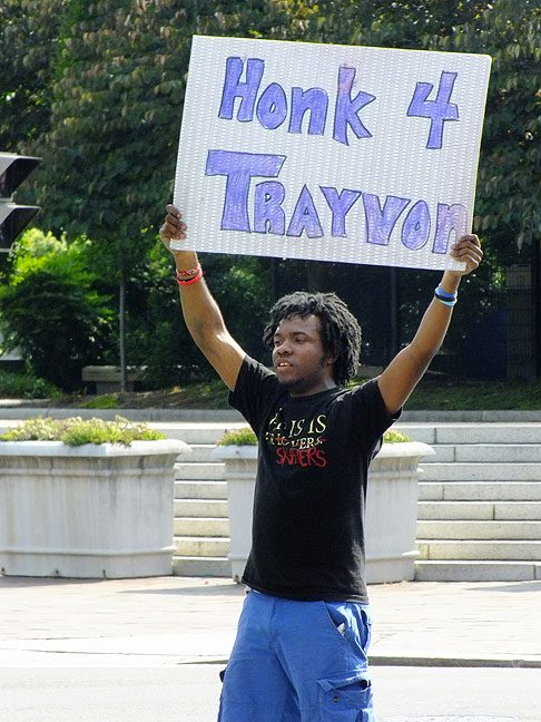 Sorry, bro. Your honking campaign didn't change the world. A for effort, though.