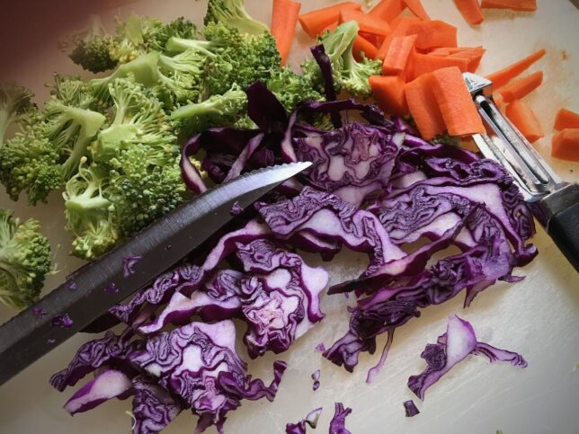 A really good meal starts with color.
