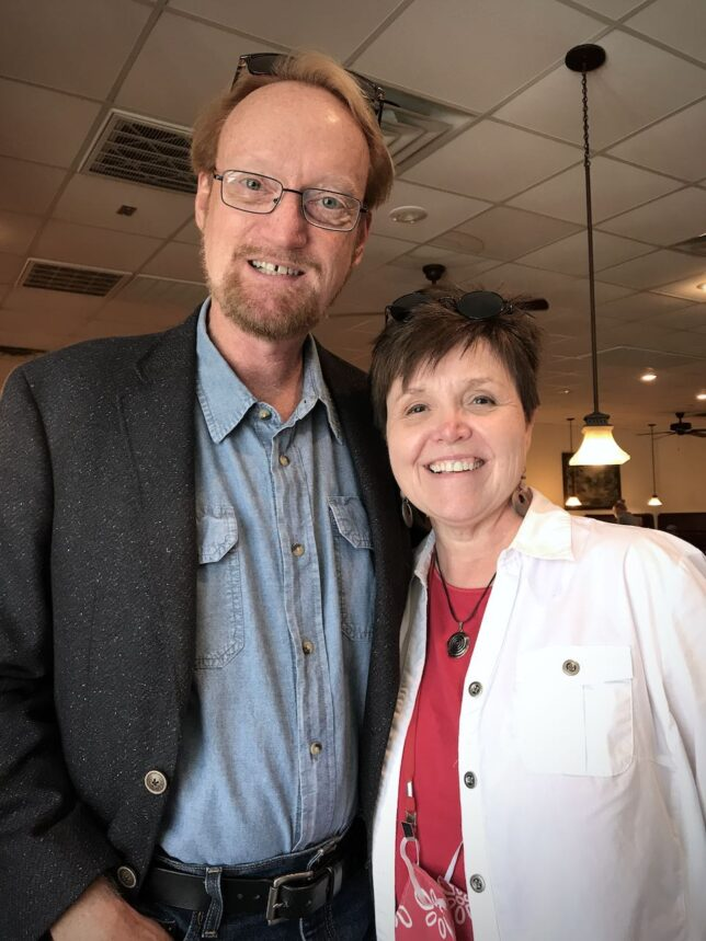 It was so good to see Brenda Wheelock, and, for the first time since September (except for very-socially-distanced Rotary), sit down and eat in a restaurant.