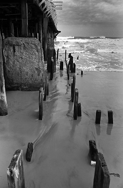This is another view of a pier in Atlantic City, New Jersey.